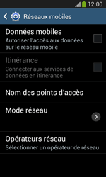Samsung S7275 Galaxy Ace 3 - Internet - activer ou désactiver - Étape 8