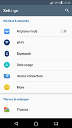 Sony F8331 Xperia XZ - Internet - Enable or disable - Step 4
