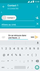 Wiko Rainbow Lite 4G - Contact, Appels, SMS/MMS - Envoyer un MMS - Étape 11