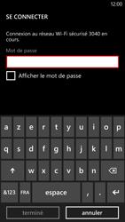 HTC Windows Phone 8X - Wifi - configuration manuelle - Étape 6