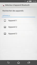Sony Xperia Z2 - Photos, vidéos, musique - Envoyer une photo via Bluetooth - Étape 11