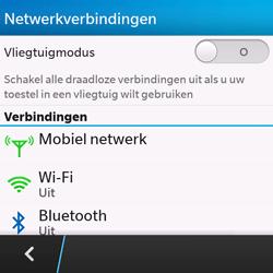 BlackBerry Q10 - Internet - Internet gebruiken in het buitenland - Stap 7