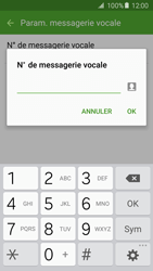 Samsung G903 Galaxy S5 Neo - Messagerie vocale - configuration manuelle - Étape 10
