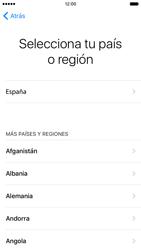 Apple iPhone 6s iOS 9 - Primeros pasos - Activar el equipo - Paso 7