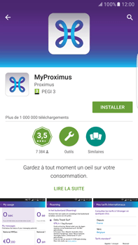 Samsung Galaxy S6 edge+ - Android M - Applications - MyProximus - Étape 9