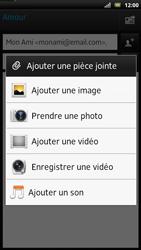 Sony LT22i Xperia P - E-mail - envoyer un e-mail - Étape 9
