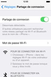 Apple iPhone 4 - Internet et connexion - Partager votre connexion en Wi-Fi - Étape 6