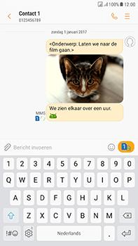 Samsung Galaxy J7 (2017) - MMS - Afbeeldingen verzenden - Stap 18