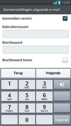 LG P875 Optimus F5 - E-mail - Handmatig instellen - Stap 14