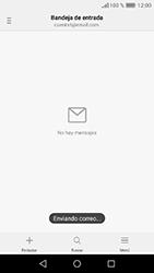 Huawei Y6 (2017) - E-mail - Escribir y enviar un correo electrónico - Paso 18