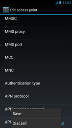 Acer Liquid E2 - Mms - Manual configuration - Step 19