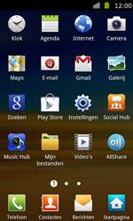 Samsung I8530 Galaxy Beam - Voicemail - handmatig instellen - Stap 3