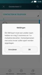 Huawei Y5 - Contacten en data - Contacten kopiëren van toestel naar SIM - Stap 9