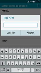 Samsung Galaxy A3 - Mensajería - Configurar el equipo para mensajes multimedia - Paso 13