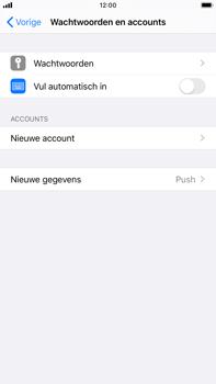 Apple iPhone 8 Plus - iOS 13 - E-mail - Handmatig Instellen - Stap 4