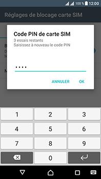 Sony Xperia L1 - Sécuriser votre mobile - Personnaliser le code PIN de votre carte SIM - Étape 10