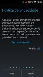 Huawei Y3 - Primeiros passos - Como ativar seu aparelho - Etapa 13