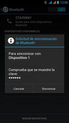 Wiko Stairway - Bluetooth - Conectar dispositivos a través de Bluetooth - Paso 7