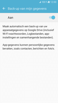 Samsung Galaxy J7 (2016) (J710) - Device maintenance - Back up - Stap 9