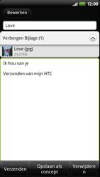 HTC Z715e Sensation XE - E-mail - e-mail versturen - Stap 10