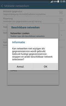 Samsung Galaxy Tab 4 (T335) - Netwerk - Handmatig netwerk selecteren - Stap 13