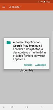 Samsung Galaxy Note 8 - Photos, vidéos, musique - Ecouter de la musique - Étape 5