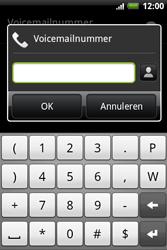 HTC A510e Wildfire S - Voicemail - handmatig instellen - Stap 6