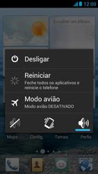Huawei Ascend G510 - Funções básicas - Como reiniciar o aparelho - Etapa 3