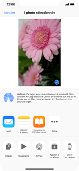 Apple iPhone XS Max - Photos, vidéos, musique - Prendre une photo - Étape 12