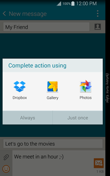 Samsung N915FY Galaxy Note Edge - Mms - Sending a picture message - Step 15