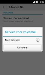 Huawei Ascend Y330 - Voicemail - Handmatig instellen - Stap 7