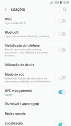Samsung Galaxy S7 Edge - Android Nougat - Internet no telemóvel - Como ativar os dados móveis -  5