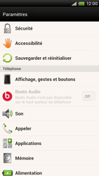 HTC S728e One X Plus - Messagerie vocale - configuration manuelle - Étape 5