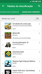 Samsung Galaxy A3 (2016) - Android Nougat - Aplicações - Como pesquisar e instalar aplicações -  12