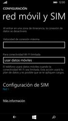 Microsoft Lumia 535 - Mensajería - Configurar el equipo para mensajes multimedia - Paso 5