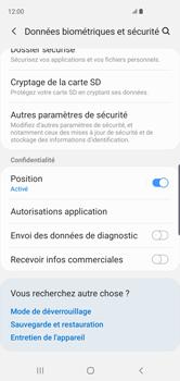 Samsung Galaxy S10 - Sécurité - modifier SIM PIN - Étape 5