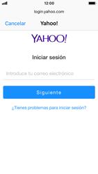 Apple iPhone 5s - iOS 11 - E-mail - Configurar Yahoo! - Paso 6