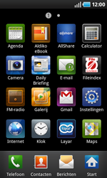 Samsung I9000 Galaxy S - E-mail - e-mail instellen: POP3 - Stap 3