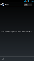Wiko Stairway - WiFi - Conectarse a una red WiFi - Paso 5