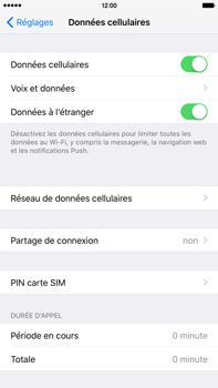 Apple iPhone 6s Plus - Internet et connexion - Utiliser le mode modem par USB - Étape 5