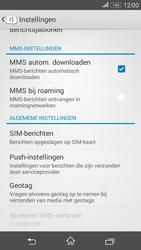 Sony E2003 Xperia E4G - MMS - probleem met ontvangen - Stap 6