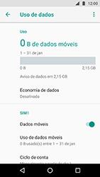 Motorola Moto X4 - Rede móvel - Como ativar e desativar uma rede de dados - Etapa 5
