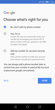 Huawei P Smart - Applications - Create an account - Step 15
