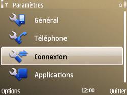 Nokia E72 - MMS - Configuration manuelle - Étape 5