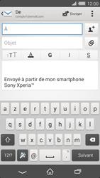 Sony Xperia Z2 - E-mails - Envoyer un e-mail - Étape 5