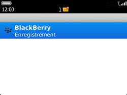 BlackBerry 9360 Curve - Paramètres - Reçus par SMS - Étape 10