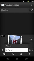 Sony LT30p Xperia T - MMS - envoi d'images - Étape 14