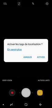 Samsung Galaxy A8 - Photos, vidéos, musique - Créer une vidéo - Étape 6