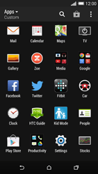 HTC One M8 - Voicemail - Manual configuration - Step 3