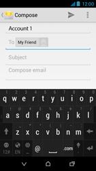 HTC Desire 310 - E-mail - Sending emails - Step 8